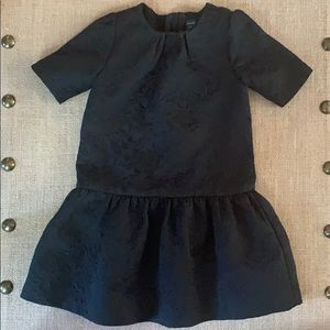 EUC stunning Black brocade Baby Gap fancy dress